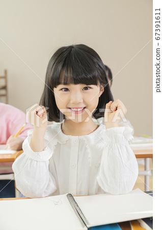 Happy children concept, a portrait of asian children smiling 085 67391611