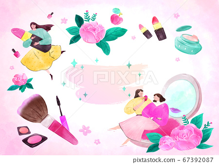fairy tale story concept watercolor Illustration 017 67392087