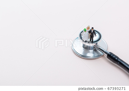Miniature world concept- Miniature figurine of traveler, businessman, couple, family 120 67393271