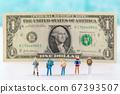 Miniature world concept- Miniature figurine of traveler, businessman, couple, family 071 67393507