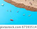 Miniature world concept- Miniature figurine of traveler, businessman, couple, family 056 67393514