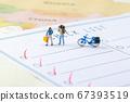 Miniature world concept- Miniature figurine of traveler, businessman, couple, family 024 67393519