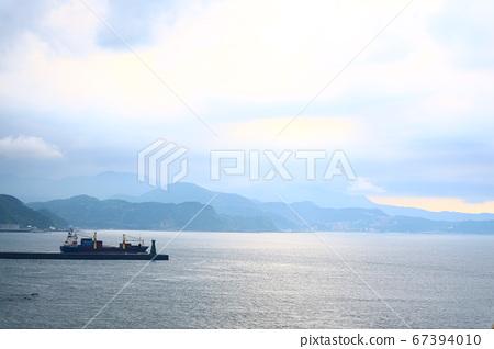 基隆,和平島,海,船,岩石 67394010