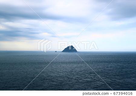 基隆,和平島,海,船,岩石 67394016