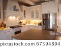 Modern interior design of kitchen 67394894