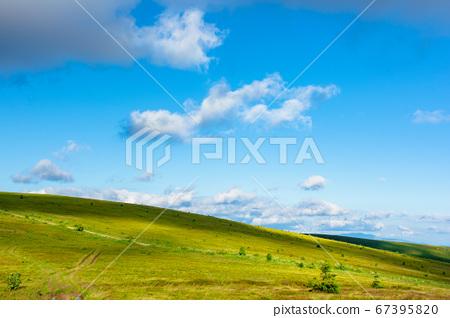 wonderful mountain landscape in summer. beauty of 67395820