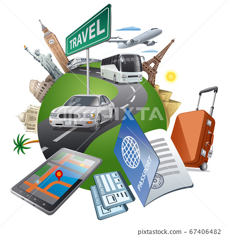 travel around the world 67406482
