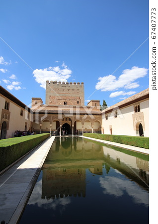 Pallas Nasr Palace in Alayanes (Alhambra Palace) Spain 67407773