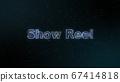 ShowReel發光全息圖消息材料 67414818