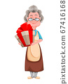 Happy Grandparents day. Cheerful grandmother 67416168