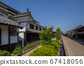Unnojuku Townscape Kitaguni Kaido 67418056