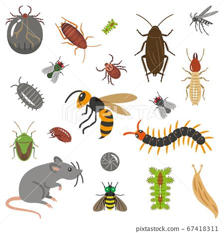 害蟲插圖集 67418311