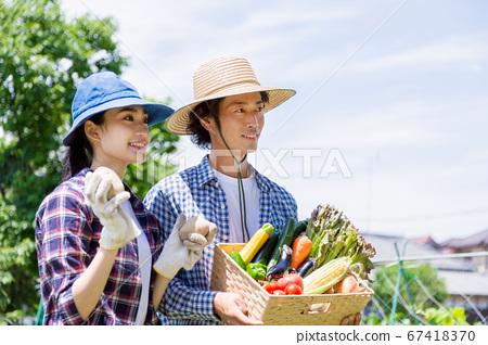 農村夫婦 67418370