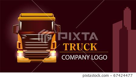 有背景的大貨車 運輸交通工具 67424477
