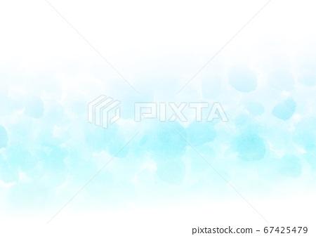 수채화 물방울 배경 67425479