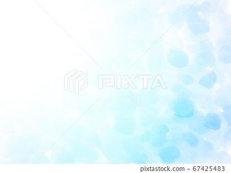 수채화 물방울 배경 67425483