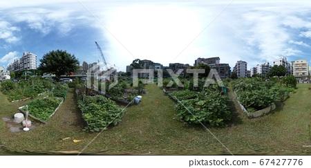都市園圃全景相片/360image Community Garden in Taipei 67427776