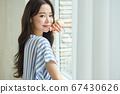 二十多歲的女人的美麗生活 67430626