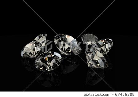 鑽石首飾,珠寶 67436589