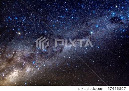 銀河系在澳大利亞漢密爾頓島1 67436897