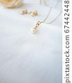 Pearl pendant Pearl earrings 67442448