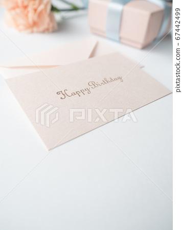 生日賀卡禮物形象康乃馨 67442499