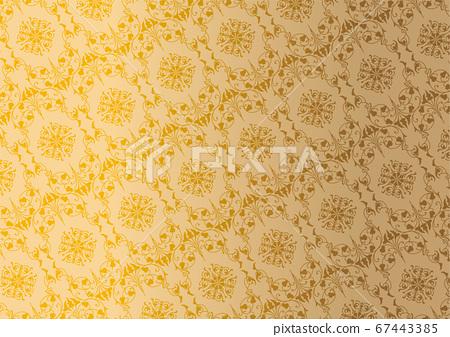 원활한 패턴 벽지 67443385