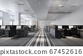 3d rendering business meeting and working room on office building 67452616