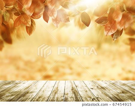模擬照片風格的秋葉圖像 67454915