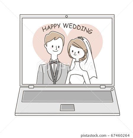 網上婚禮 67460264