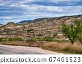 Landscape view of Macisvenda near Murcia in Spain 67461523