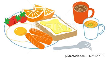 아침 식사 67464406