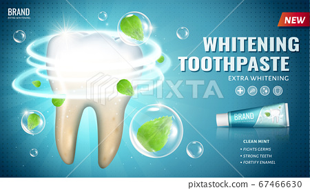 Ad template for toothpaste 67466630