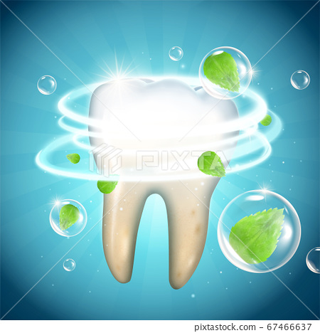 Tooth whitening effect 67466637