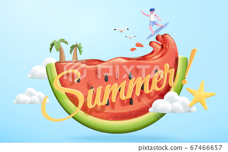 Summer concept illustration 67466657