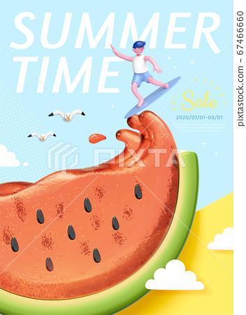 Summer concept poster 67466660