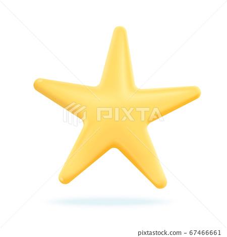 3D star sign 67466661