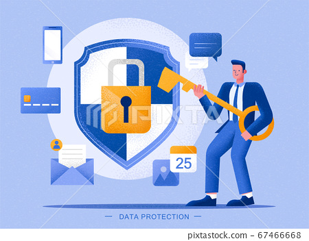 Data protection concept 67466668