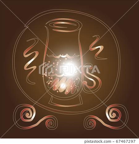 Creative design vector for coffee.illustration 67467297