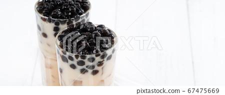 台灣小茶波霸奶茶木薯粉珍珠粉珍珠奶茶 67475669