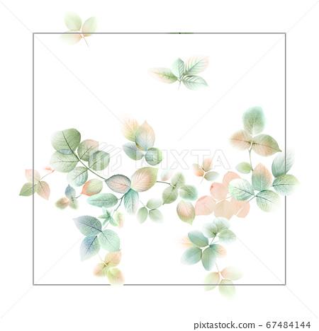 色彩豐富的花卉素材組合和設計元素 67484144