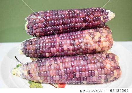 夏季美味零食黑米玉米 67484562
