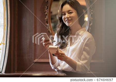 商业,生活方式,女人 67484697