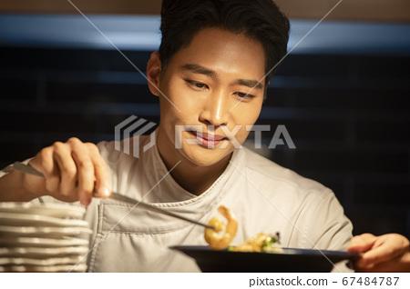 業務,廚師,男人 67484787