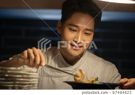 業務,廚師,男人 67484823