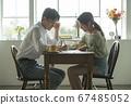 生活方式,夫妇,男人和女人 67485052