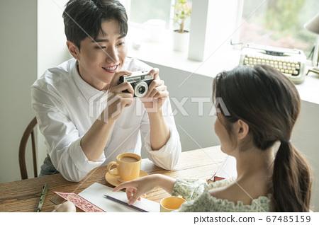 生活方式,夫婦,男人和女人 67485159