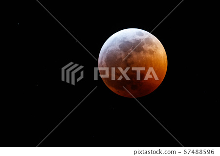 Eclipse and Super Blood Moon 67488596