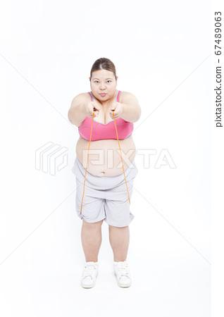 Metabo女人跳繩 67489063