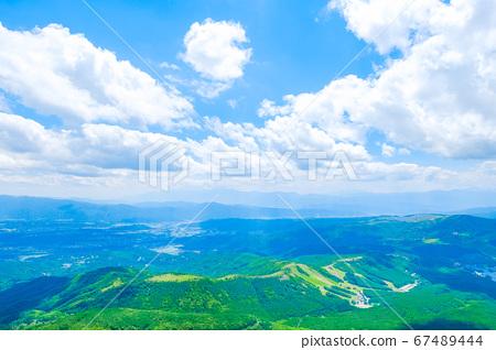 초여름의 蓼科山 등산 : 산정 치노 방면 희망 67489444